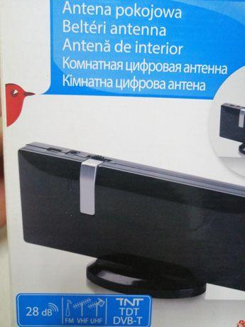Antena de interior TNT,TDT,DVB-T,FM