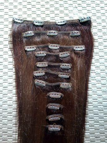 Extensii din păr natural (200 lei)+ coadă din păr natura(150 lei)
