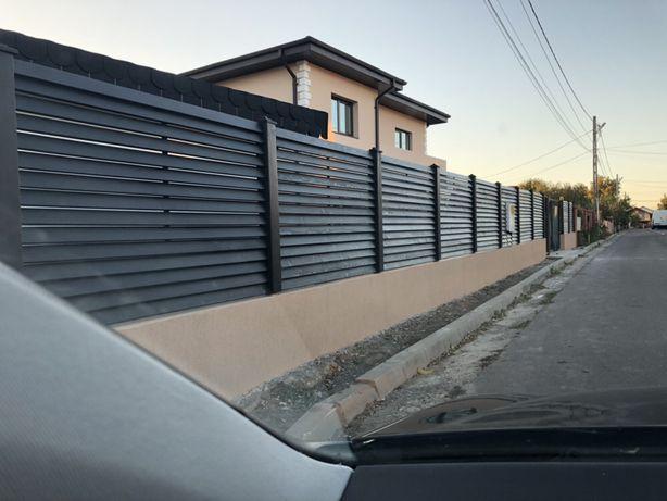 Gard lemn masiv/ panou gard molid/
