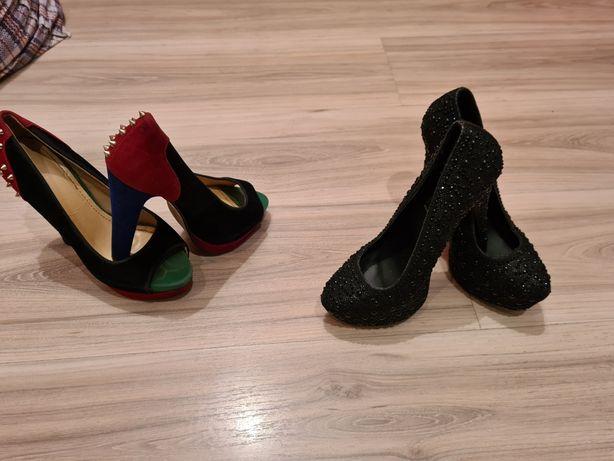 2 perechi pantofi dama mar 38 la 25 lei perechea Timișoara