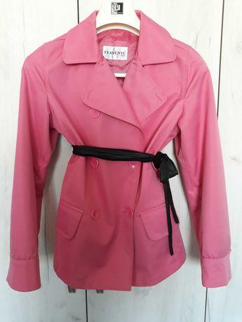 Дамски розов шлифер