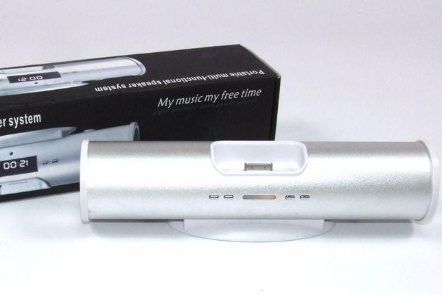 BOXA PORTABILA cu radio FM, USB, SDcard, IPOD, Line In, NOUA !
