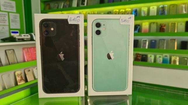 iPhone 11 128GB Black/Green/Nou sigilat/Factura si Garantie