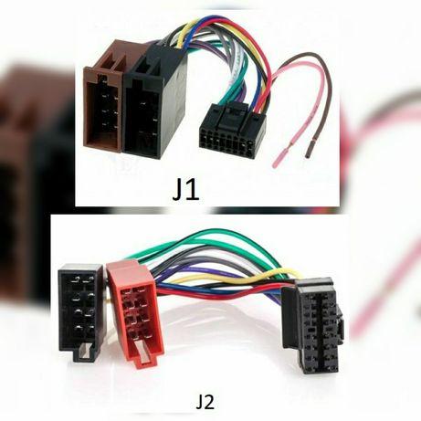 Adaptor mufa conector radio CD auto EURO la ISO JVC