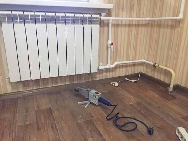 Установка Радиаторов Отопления!Квартира Дом!