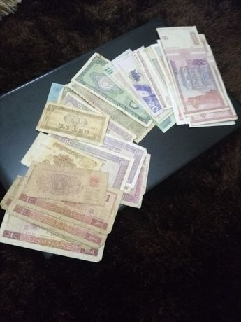Set 35 bancnote Romania si altele