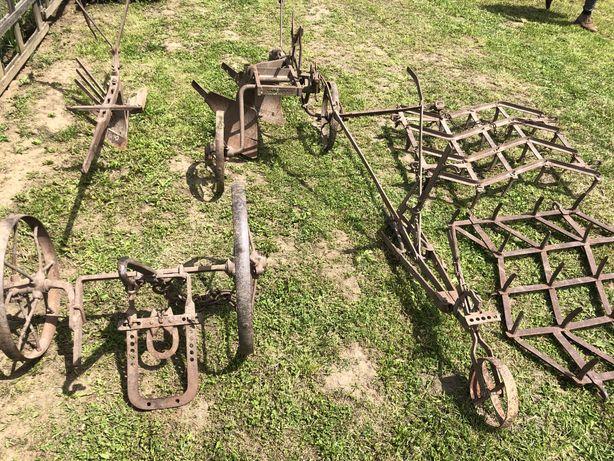 Unelte agricole germane vechi