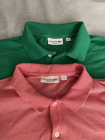 Бренд Lacoste мужские Polo футболки