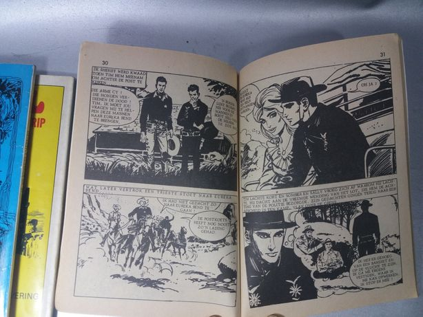 Cărți gen Pif benzi desenate din 1976 original de colecție