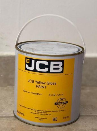 Vopsea galbena lucioasa original JCB 2.5L]