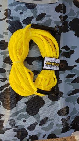 Въже за теглене на гума или водни ски