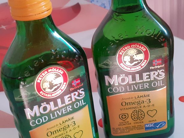 Mollers ulei cod