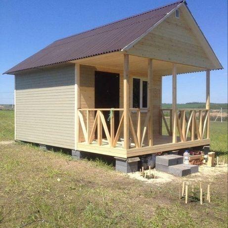Строительство каркасных домов, бань и беседок