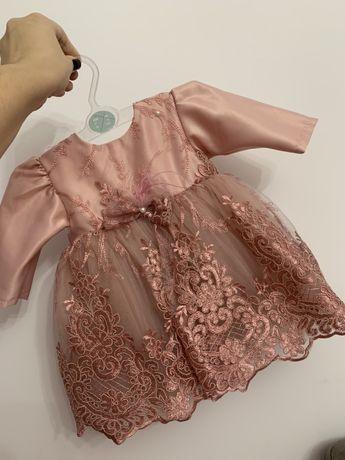 Compleu rochie palton botez