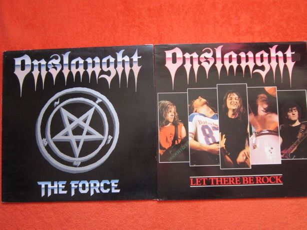 colectie Onslaught-Search Of Sanity&Force&Let There BeRock-ThrashMetal