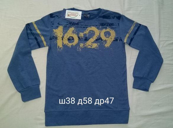 Нови! Блузи с дълъг ръкав 134