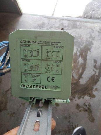 Линеен двуканален преобразувател за термодвойка
