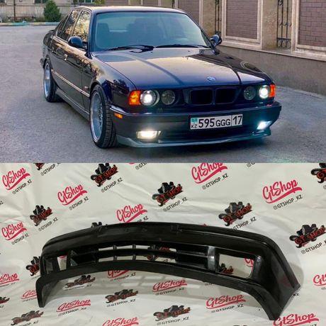 Передний бампер для BMW E34, БМВ Е34 задний бампер , накладка тюнинг