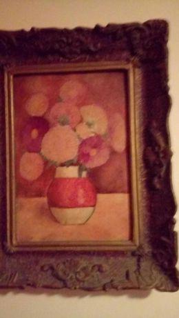 Pictura in ulei cu rama.semnata R Bondelll .