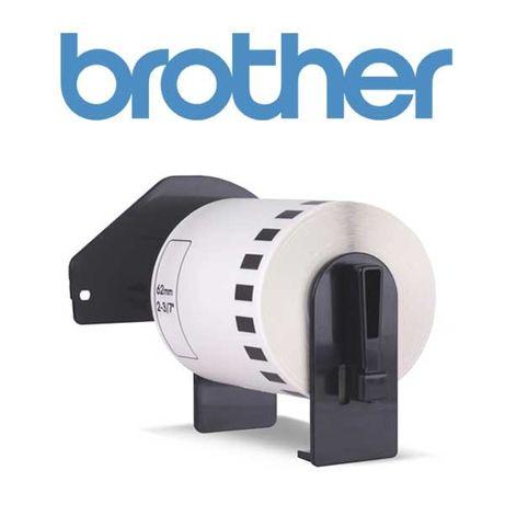 Етикети Brother DK-22210 ленти 29ммХ30,48м на принтер Brother QL