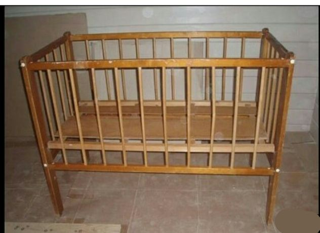 кроватка детская советская
