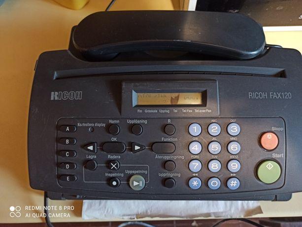 Telefon ricoh fax 120