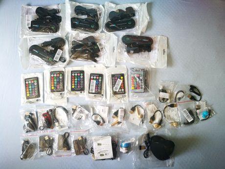 Lot electronice noi: Multipoint, Transmitator FM auto, Casti Bluetooth