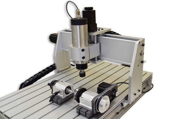 CNC Фреза 6040 T 4D 2,2 kW с физическа 4-та ос
