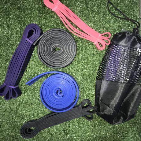 Резиновая петля ленточный эспандер жгут фитнес workout, crossfit)