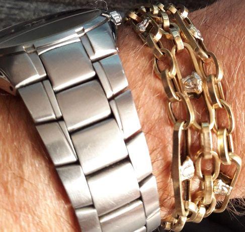 Lant aur barbatesc Versace 14K 16.33 grame