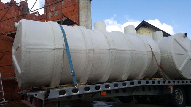 Fose septice ecologice din fibra de sticla transport