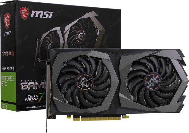 Видеокарта MSI GTX 1650 GAMING X 4GB GDDR6 128-bit 1xHDMI 2xDP
