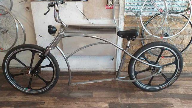 bicicleta chopper - proiect in curs