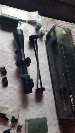 Nikon monarch 7 2.5-10x50il + montura B.l.a.s.e.r, pivotanta, weaver.