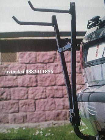 Багажник за ВЕЛОСИПЕДИ универсален монтира се на теглича
