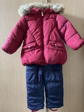 Куртка Zara с комбинезоном