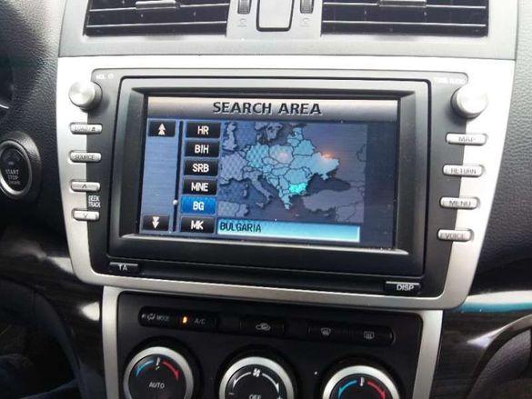 Диск за навигация DENSO Mazda Land Rover Subaru Range Rover версия2018