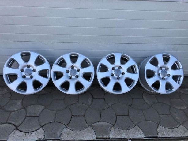 Set 4 Jante Aluminiu 5x130 R18 Audi Originale Q7 4L
