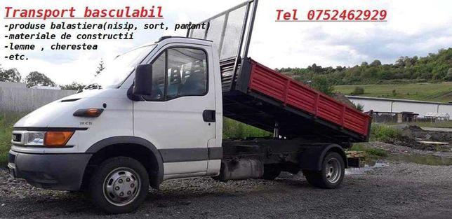 Transport materiale de constructii.