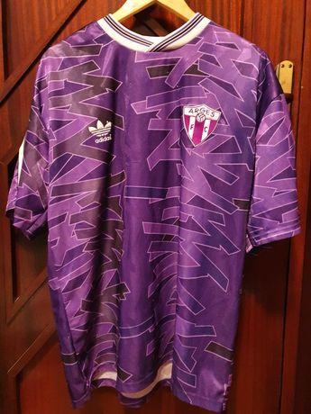 Tricou fotbal concept retro anii 90 FC Arges, Dobrin 10, XL/XXL