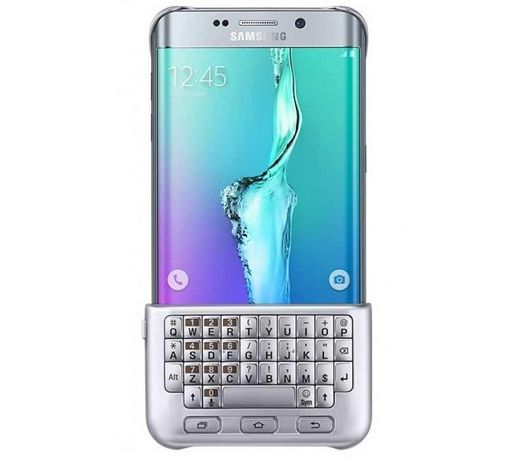 Keyboard Cover Galaxy S6 edge+ si Husa S-View Cover Samsung Galaxy S6