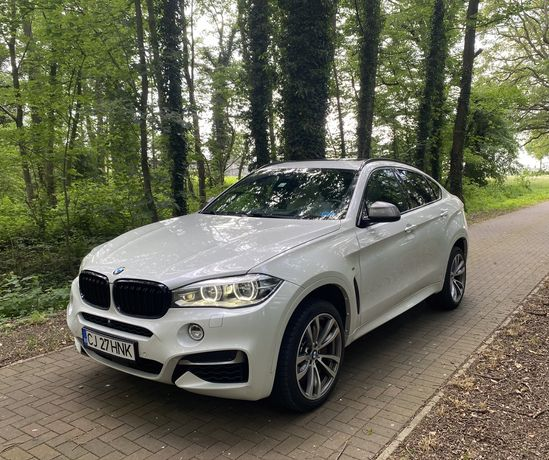 BMW X6 M50d*Distronic*Cam360*PieleBicolor*HeadUp*SoftCl*Trapa*Keyless