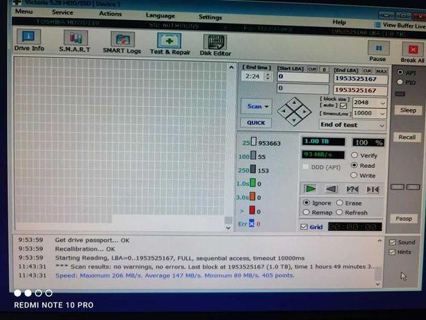 Новый жёсткий диск 1000tb Toshiba