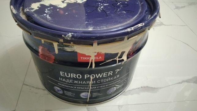 Продам краску Тиккурилла EURO 7.