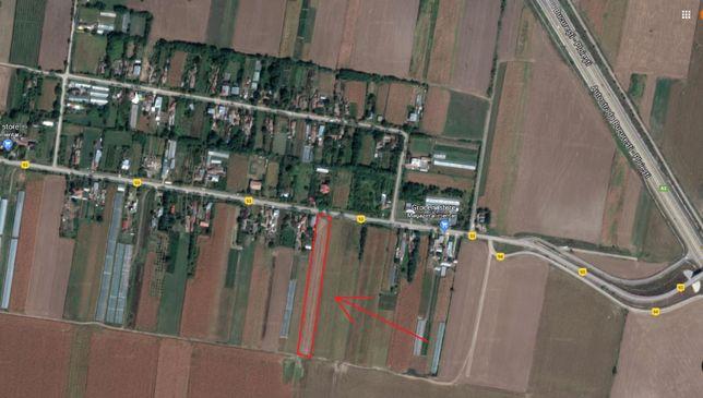 Vand teren intravilan in satul Independenta