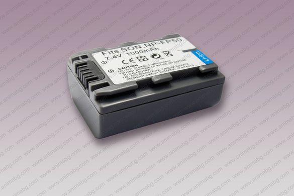 ANIMABG Батерия модел NP-FP50 за SONY