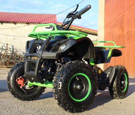 ATV electric Eco Torino 800W 36V Deluxe cu Baterie detasabila #Verde