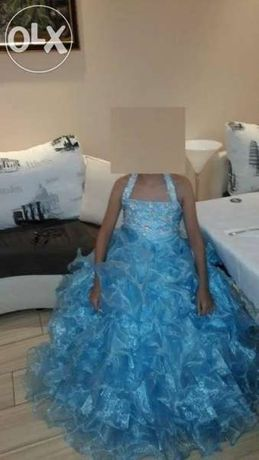 Детска бална рокля 140см.