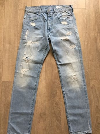 G Star Raw Stean Tapered Jeens