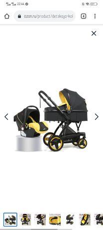 Детская коляска 3 в 1 Belecoo X6